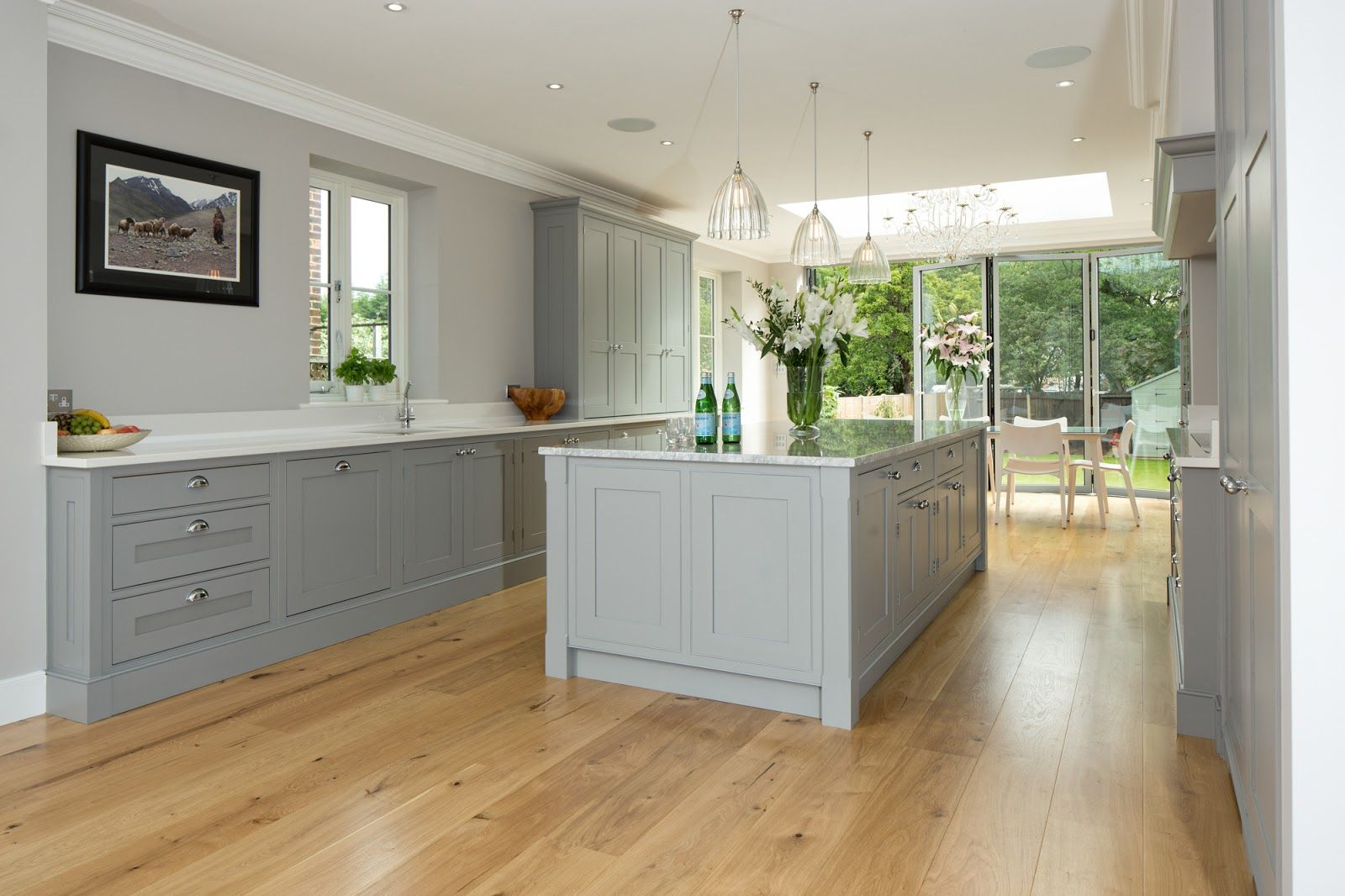 Light Grey Kitchen Cabinets Light Grey Shaker Kitchens Google Search