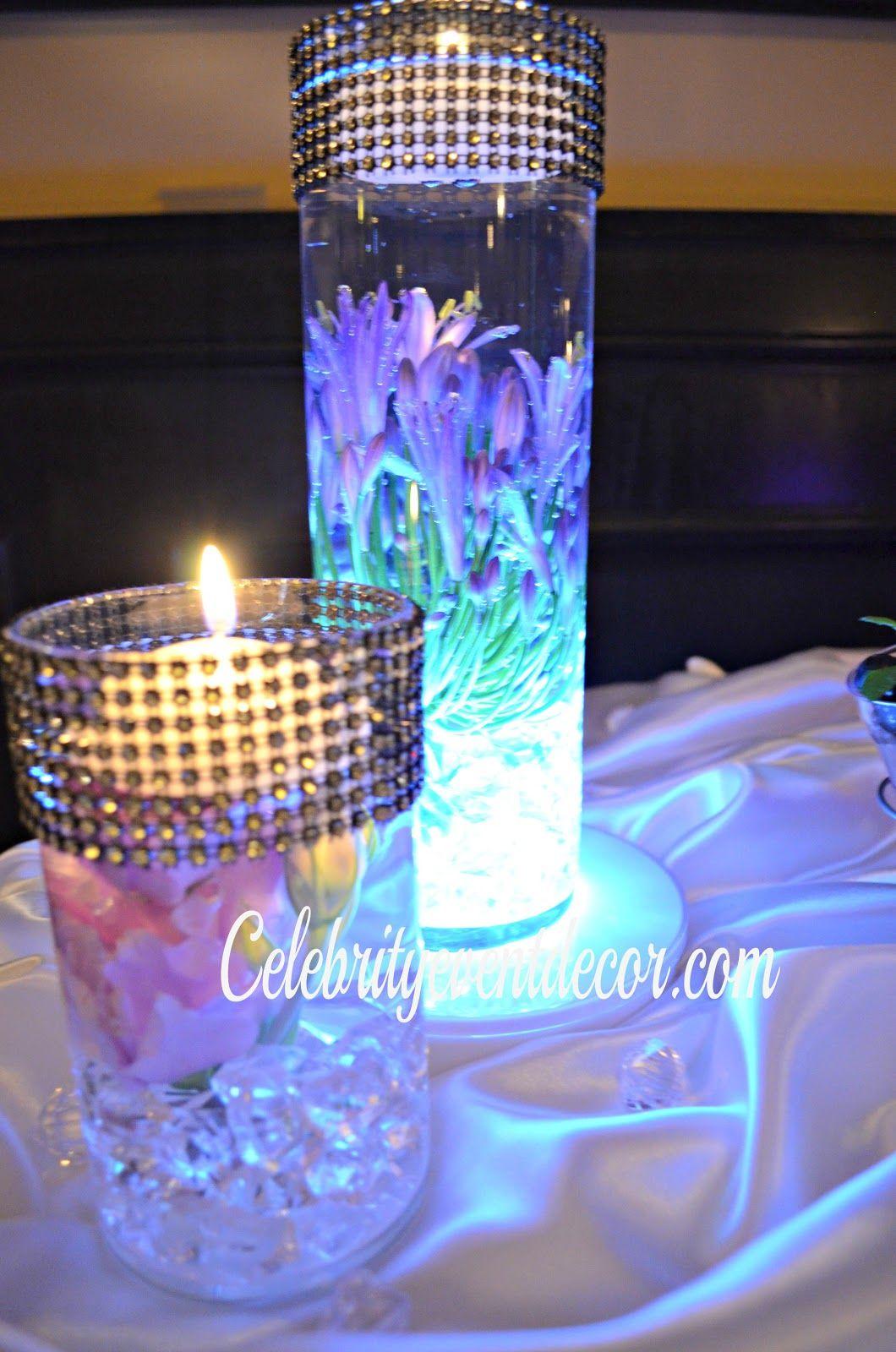 wedding centerpieces ideas Cheap Sweet Sixteen Table Centerpieces Sweet 16 Centerpieces