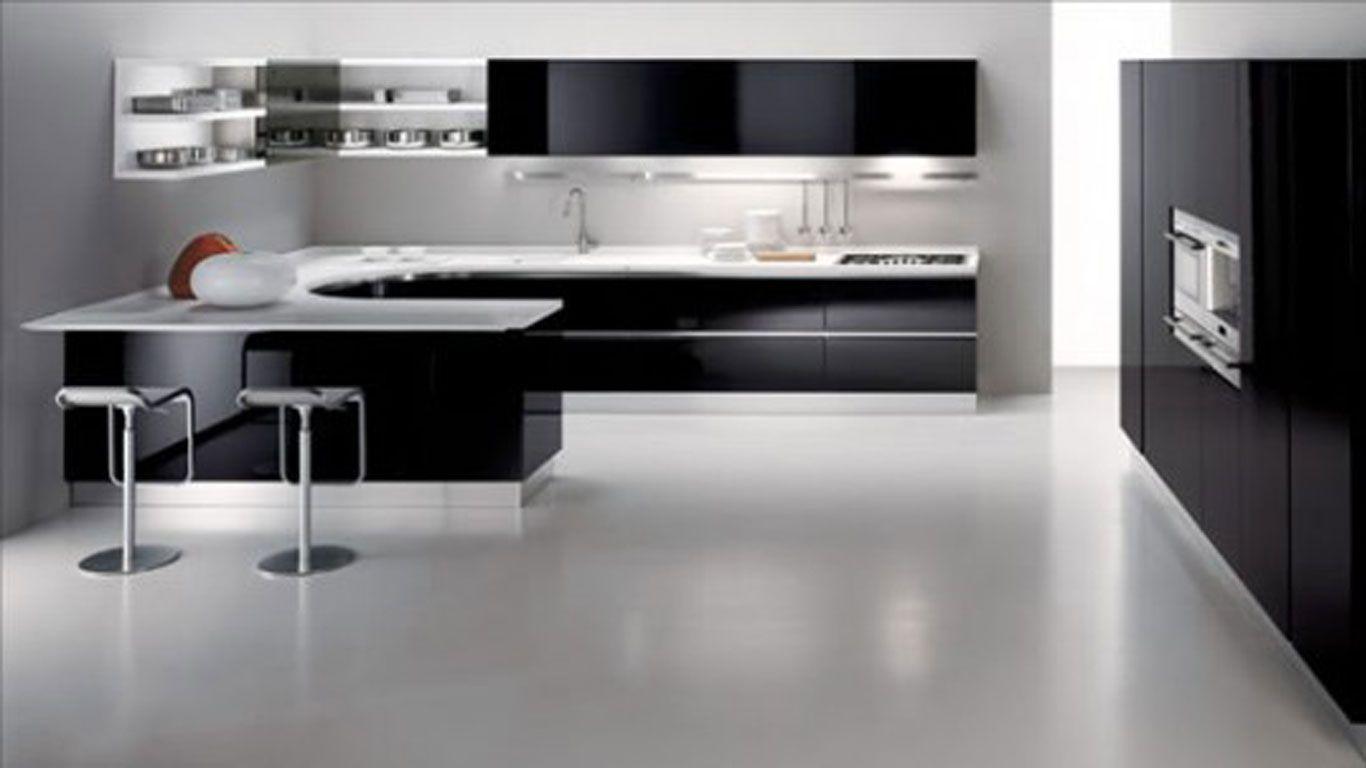 white kitchen designs Black Kitchen Chairs Amazing And Awesome Minimalist Kitchen Island Design Ideas Black n white