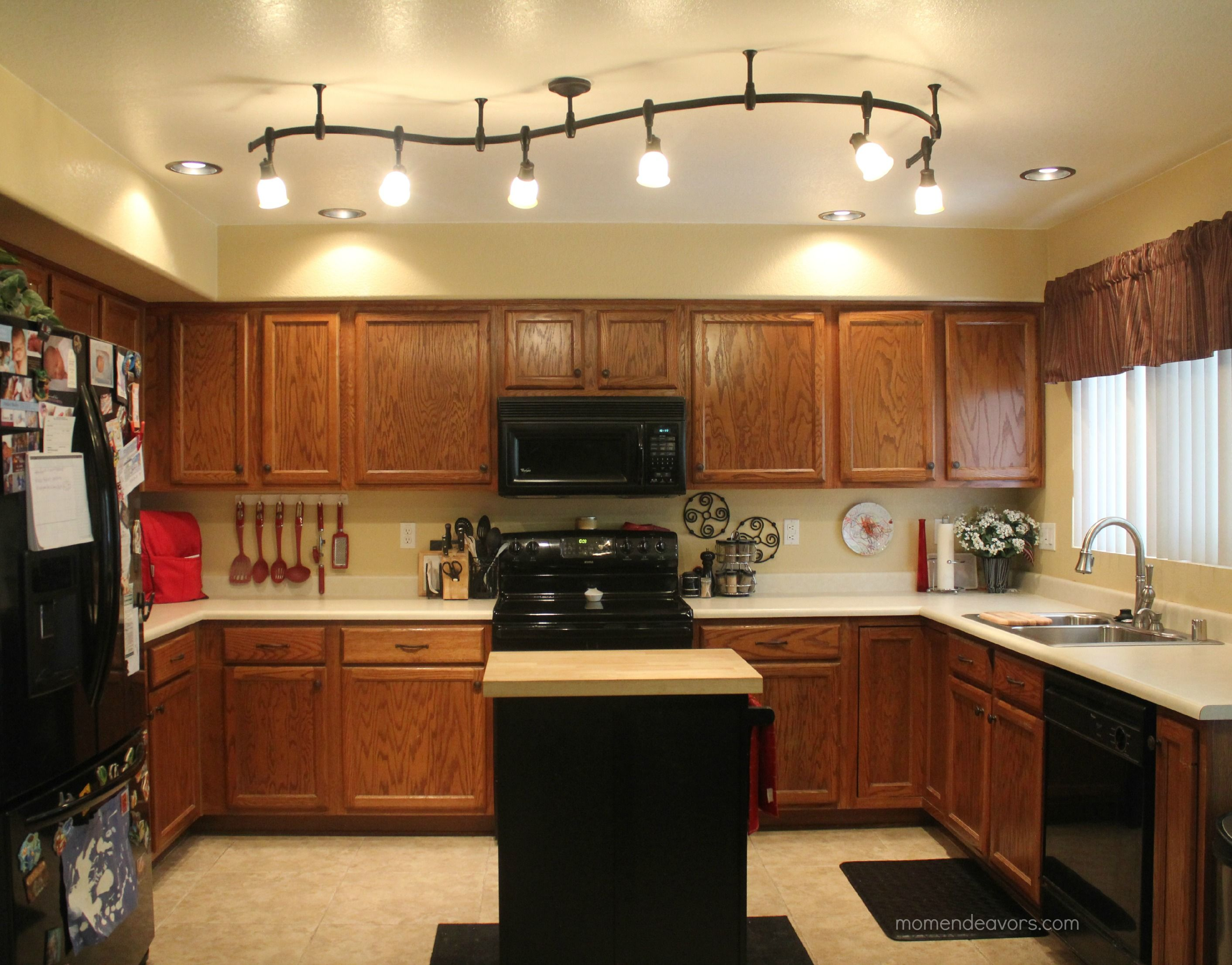 lighting kitchen lighting fixtures ceiling 11 Stunning Photos of Kitchen Track Lighting