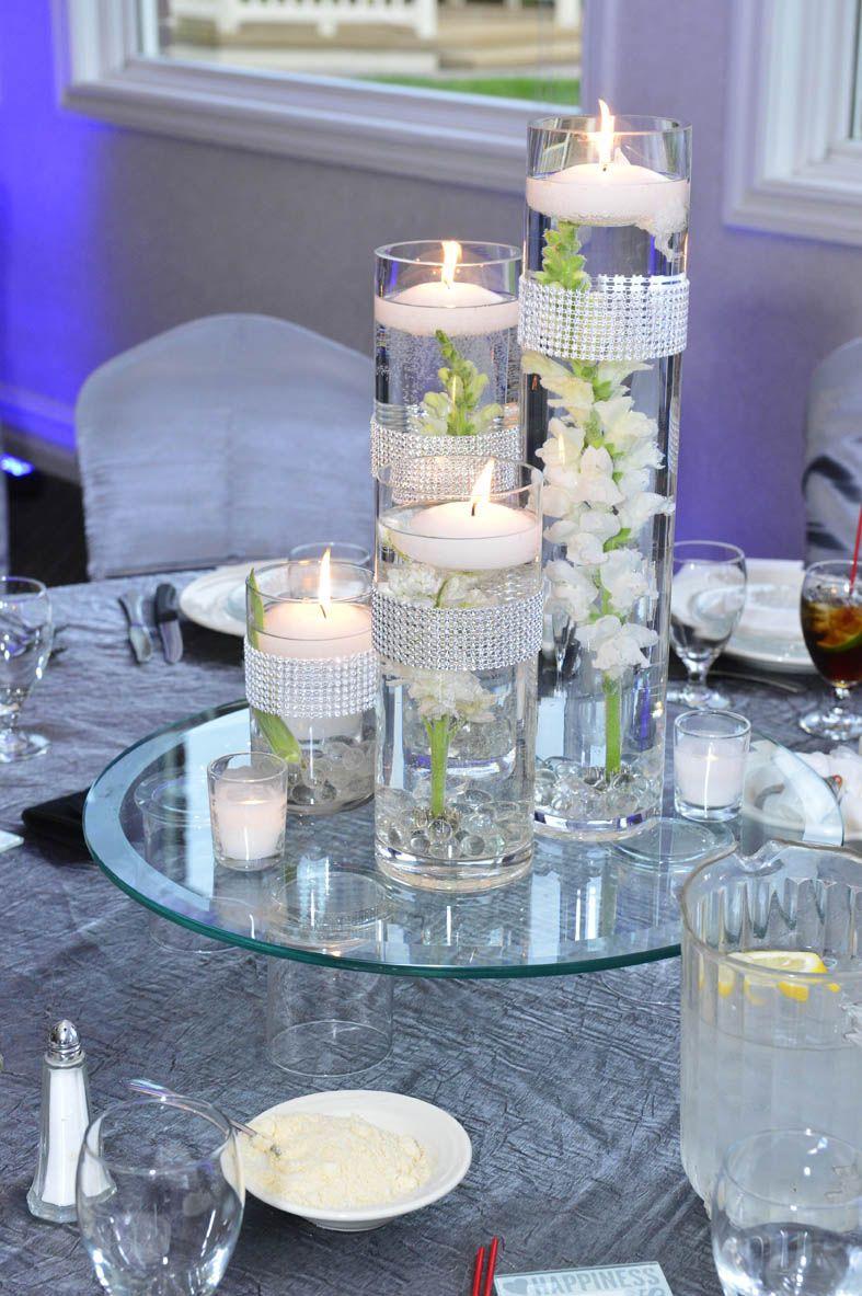 centerpieces for wedding Sweet 16 Candle Lighting Ideas garden themed centrepieces wedding centerpieces centerpiece