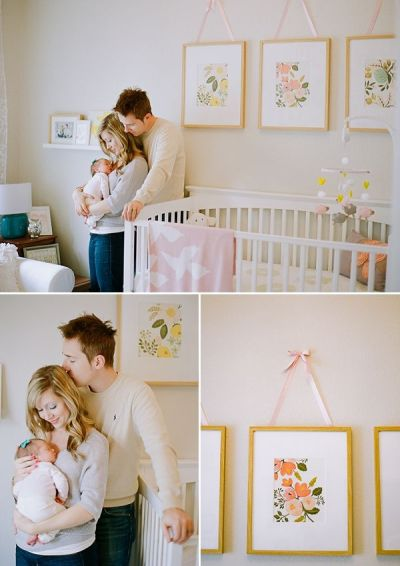 Ayla's Sophisticated Botanical Nursery by Sara Hasstedt ...