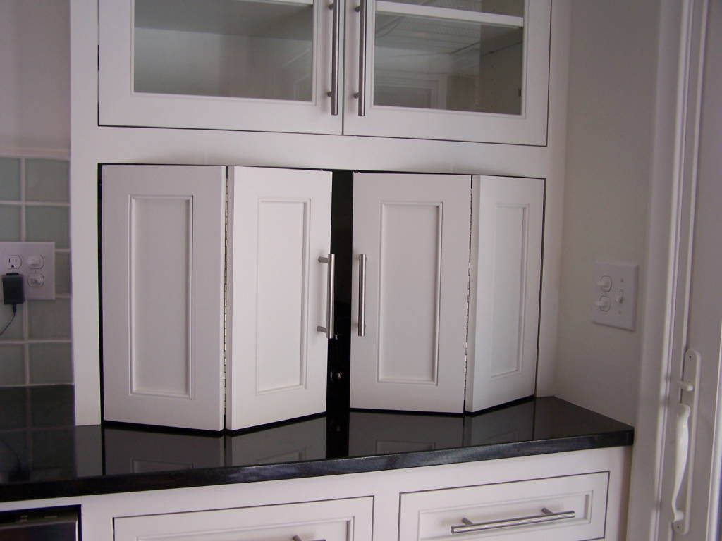 kitchen cabinet doors kitchen cabinets doors recycle bifold doors doors appliance lift double wide tambour doors tambour door tambour Kitchen Cabinet