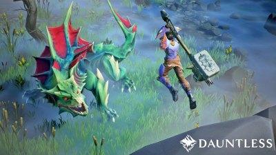 Former 'League of Legends' developers unveil 'Dauntless'