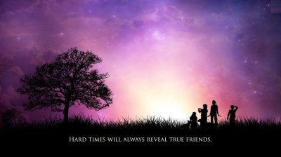 Friendship Quotes HD - Wallpaper, High Definition, High Quality, Widescreen
