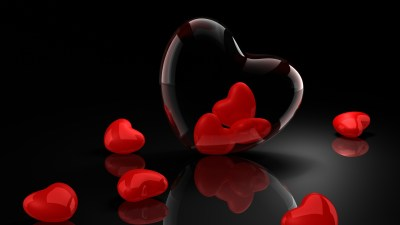 Valentines Day 3D Background - Wallpaper, High Definition, High Quality, Widescreen