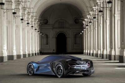 The IED Syrma Concept Car Is a Futuristic McLaren Lookalike - autoevolution