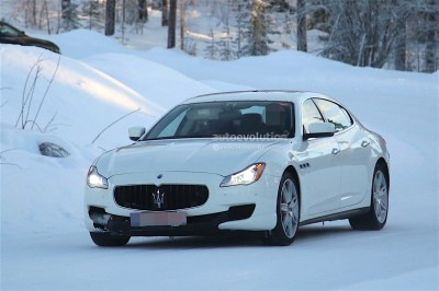 2017 Maserati Quattroporte Facelift Spied with Little ...