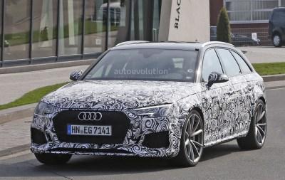 2018 Audi RS4 Avant Hits 'Ring, Expect Porsche Panamera 2.9L Twin-Turbo V6 Power - autoevolution