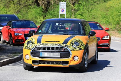 2018 MINI Cooper S Facelift Spotted Testing, It Has Minor Changes - autoevolution