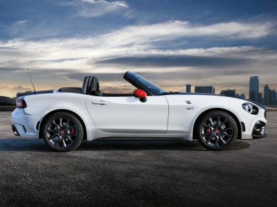 Fiat 124 Spider Named European Gay Car of the Year 2017 - autoevolution