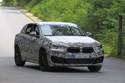 Spyshots: 2018 BMW X2 Interior And Front End Design Get Shown - autoevolution