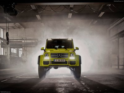The Wonderful Mercedes-Benz G500 4x4 Squared Might Be Coming Stateside - autoevolution