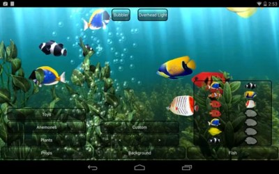 Aquarium Live Wallpaper | Download | TechTudo