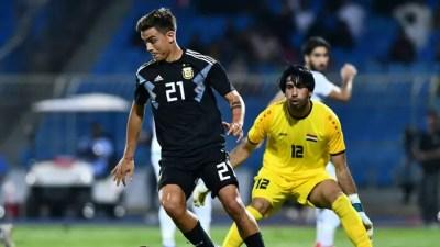 Jogadores marcam pela primeira vez e Argentina goleia Iraque por 4 a 0, sem Messi – BLOG DO DOMINADO