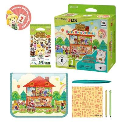 Animal Crossing: Happy Home Designer + NFC Reader/Writer + amiibo Cards Series 1 Pack | Nintendo ...