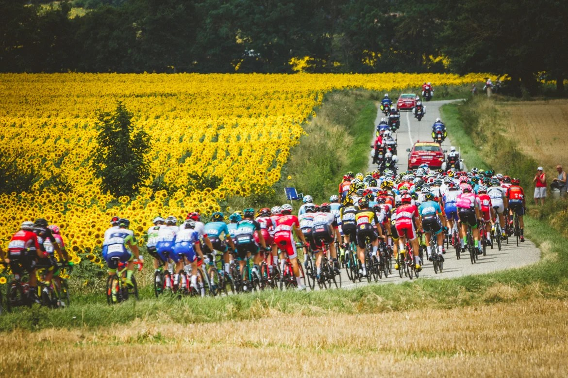 Tour de France Photo Essay  From the punishing Pyrenees to Paris     2018 Tour de France   Stage 16