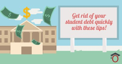 Get rid of your student loan debt quickly with these tips - iontuition