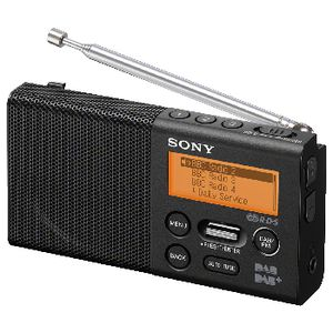 Sony DAB  Pocket Radio   Officeworks     Sony DAB  Pocket Radio