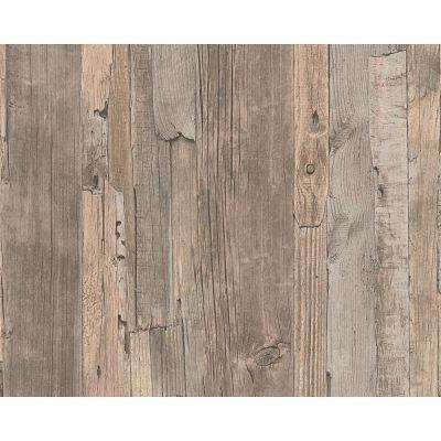 Realistic Wood Wallpaper Faux Wooden Effect Modern Realistic Panel Stripe Beam | eBay