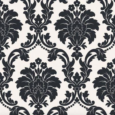 ARTHOUSE ROMEO DAMASK WALLPAPER - BLACK, BLUSH, GREY, CREAM - FEATURE WALL DECOR | eBay