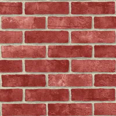 RED BRICK EFFECT REALISTIC WALLPAPER ROOM DECOR FEATURE WALL NEW | eBay