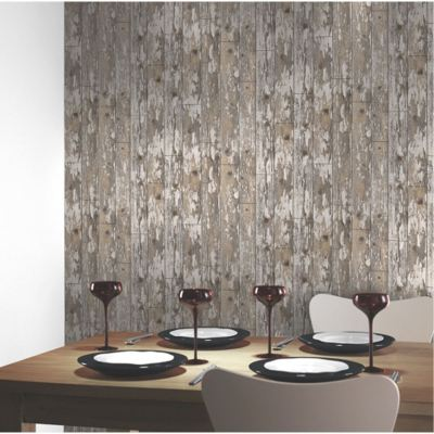 MODERN WOODEN WOOD WALLPAPER FEATURE WALL / WHOLE ROOM VARIOUS DESIGNS AVAILABLE | eBay