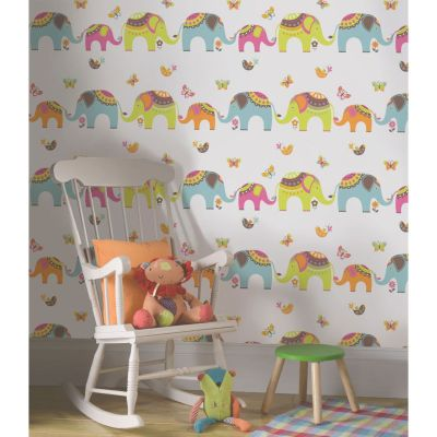 HOLDEN DECOR PLAYTIME COLLECTION KIDS WALLPAPER FOR BEDROOM, PLAYROOM, NURSERY | eBay