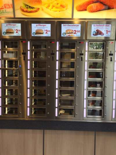 Febo - Fast Food - Korte Niezel, De Wallen, Amsterdam, Noord-Holland, The Netherlands ...