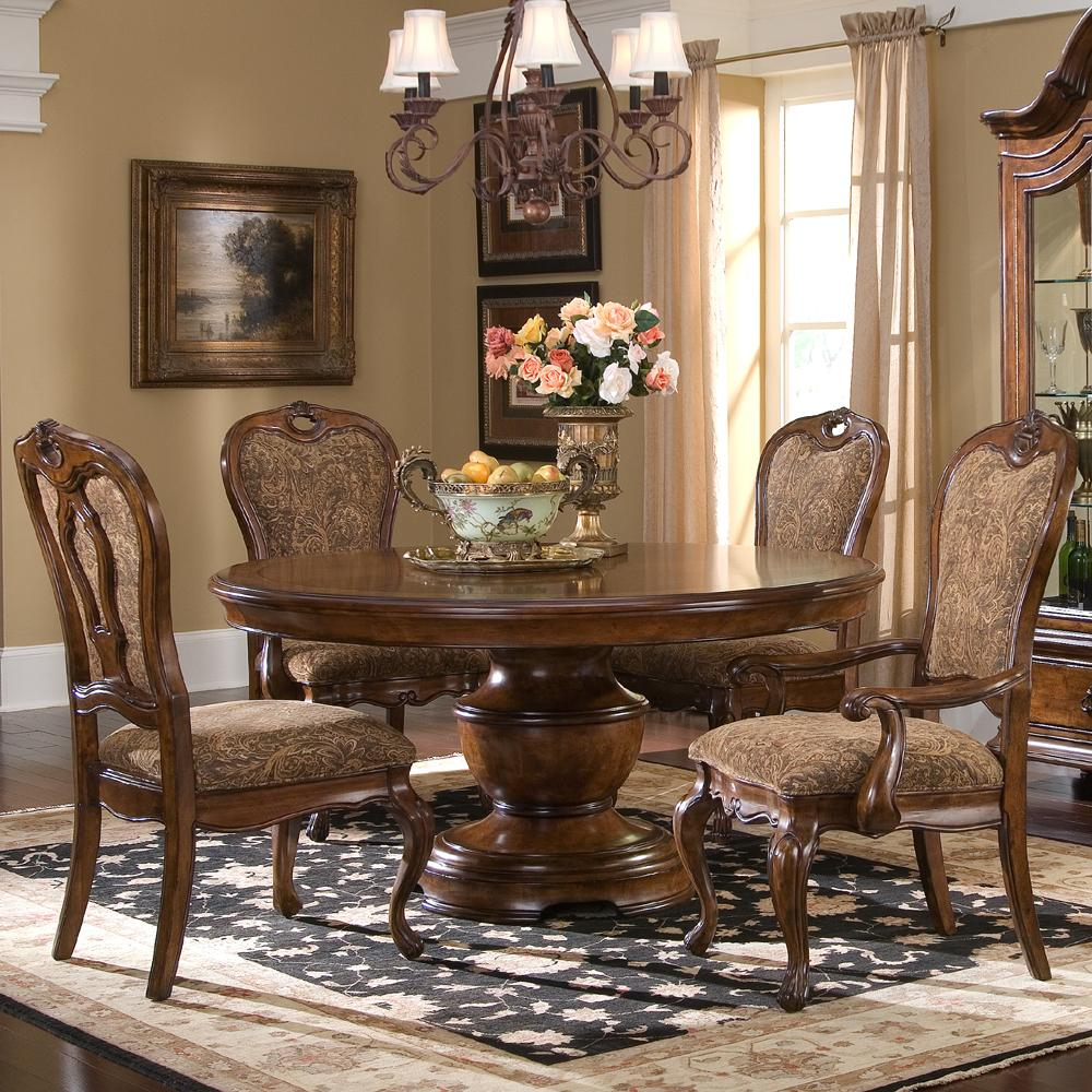 round kitchen table set 5 Piece Round Dining Table Set