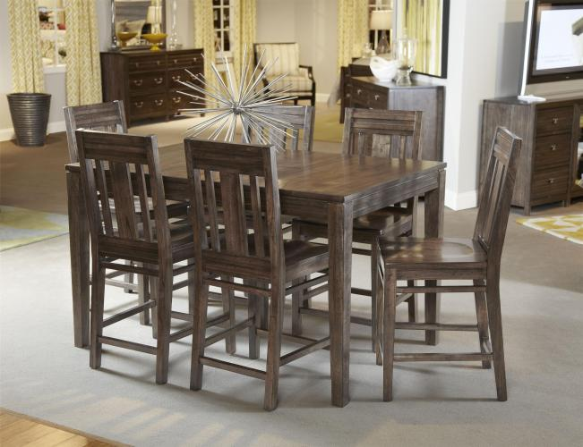 tall dining tables solid wood kitchen tables Height Pub Table