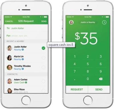 Square Cash Introduces P2P Payments using Bluetooth Low Energy