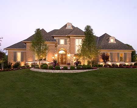 Luxury European House Plan - 39201ST | 1st Floor Master Suite, Bonus Room, Butler Walk-in Pantry ...