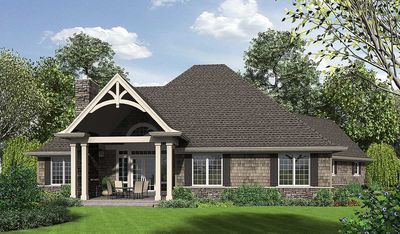 3 Bedroom Craftsman Home Plan - 69533AM | Architectural Designs - House Plans