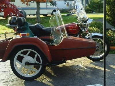 1977 Honda Goldwing GL1000 with Sidecar and Trailer Saanich, Victoria