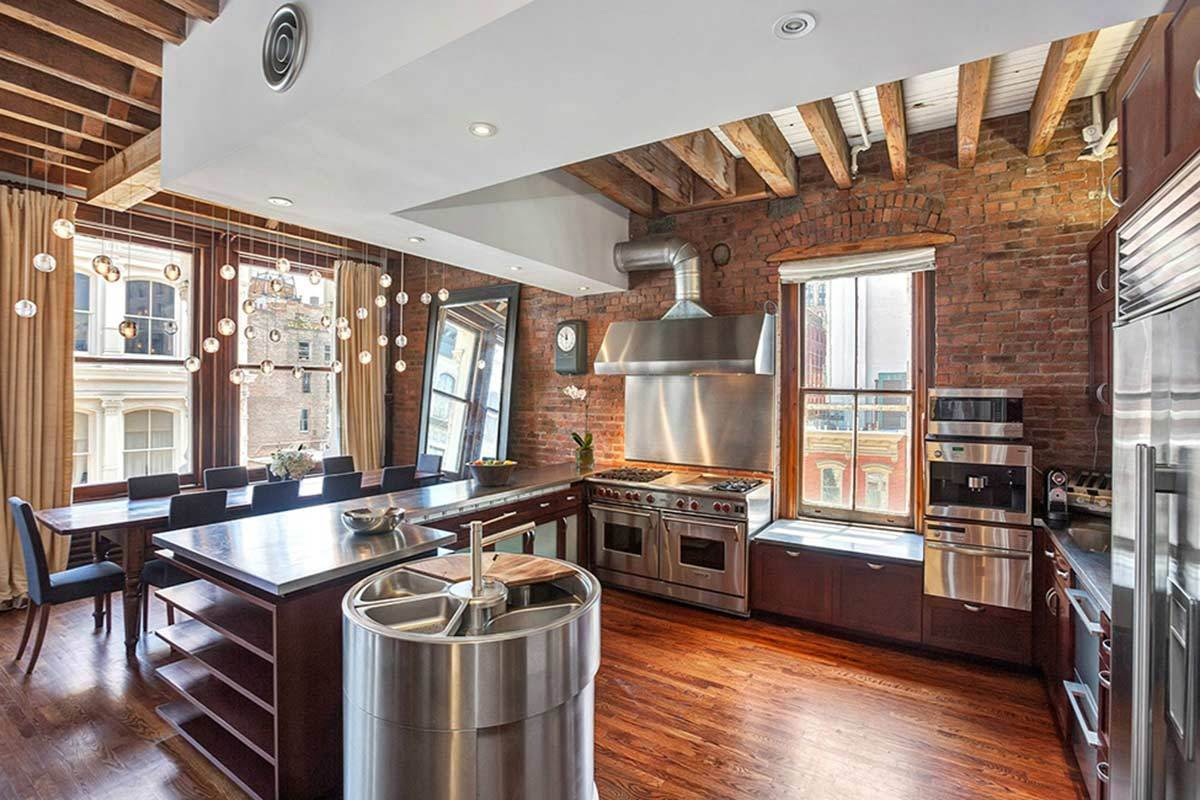 kitchen backsplash stainless steel kitchen backsplash 6 Beautiful Stainless Steel Kitchen Ideas