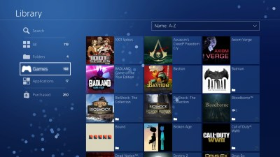 How to organize your PlayStation 4 game library and make custom folders