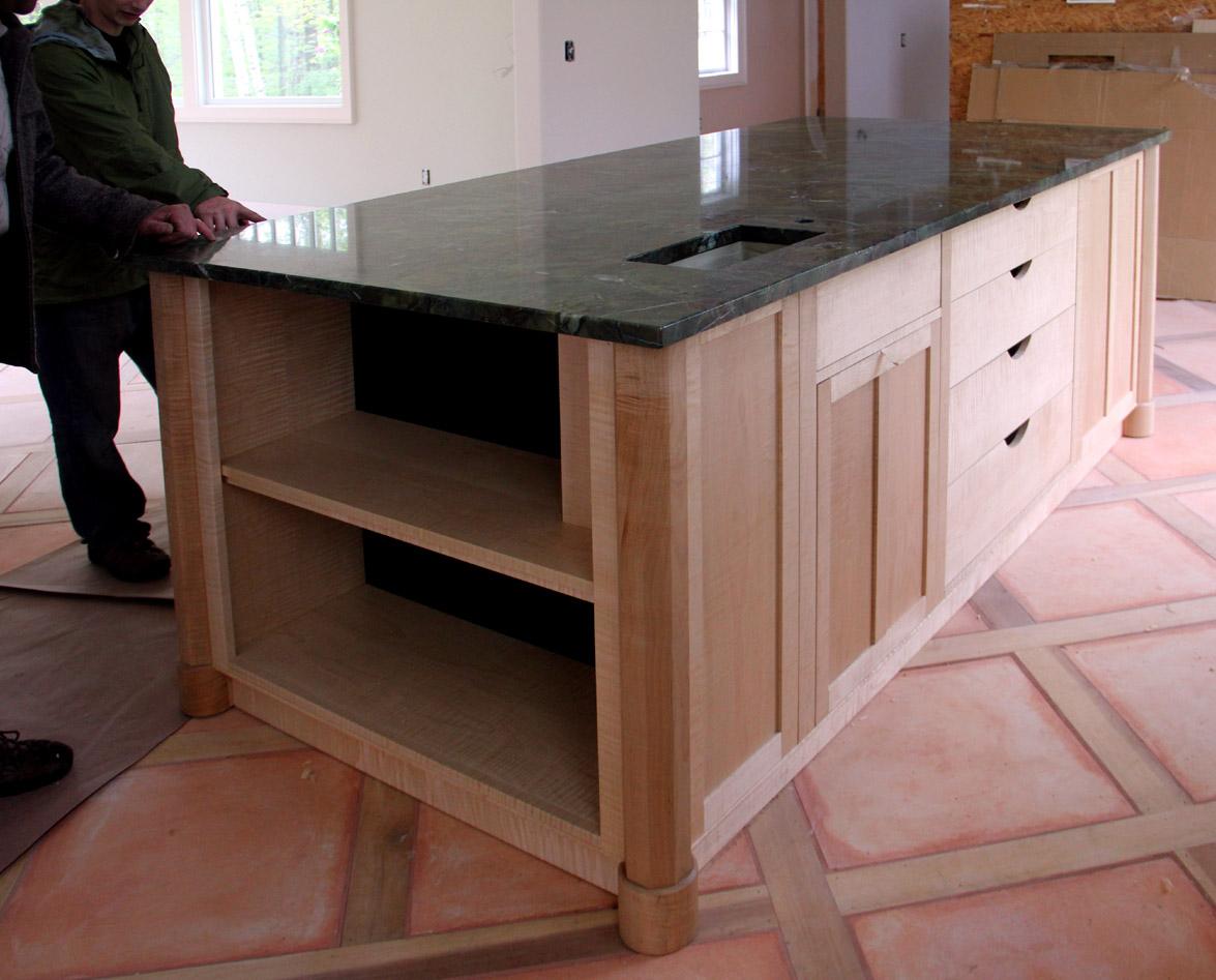 a custom kitchen island custom kitchen islands