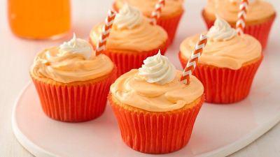 Two-Ingredient Soda Pop Cupcakes recipe from Betty Crocker