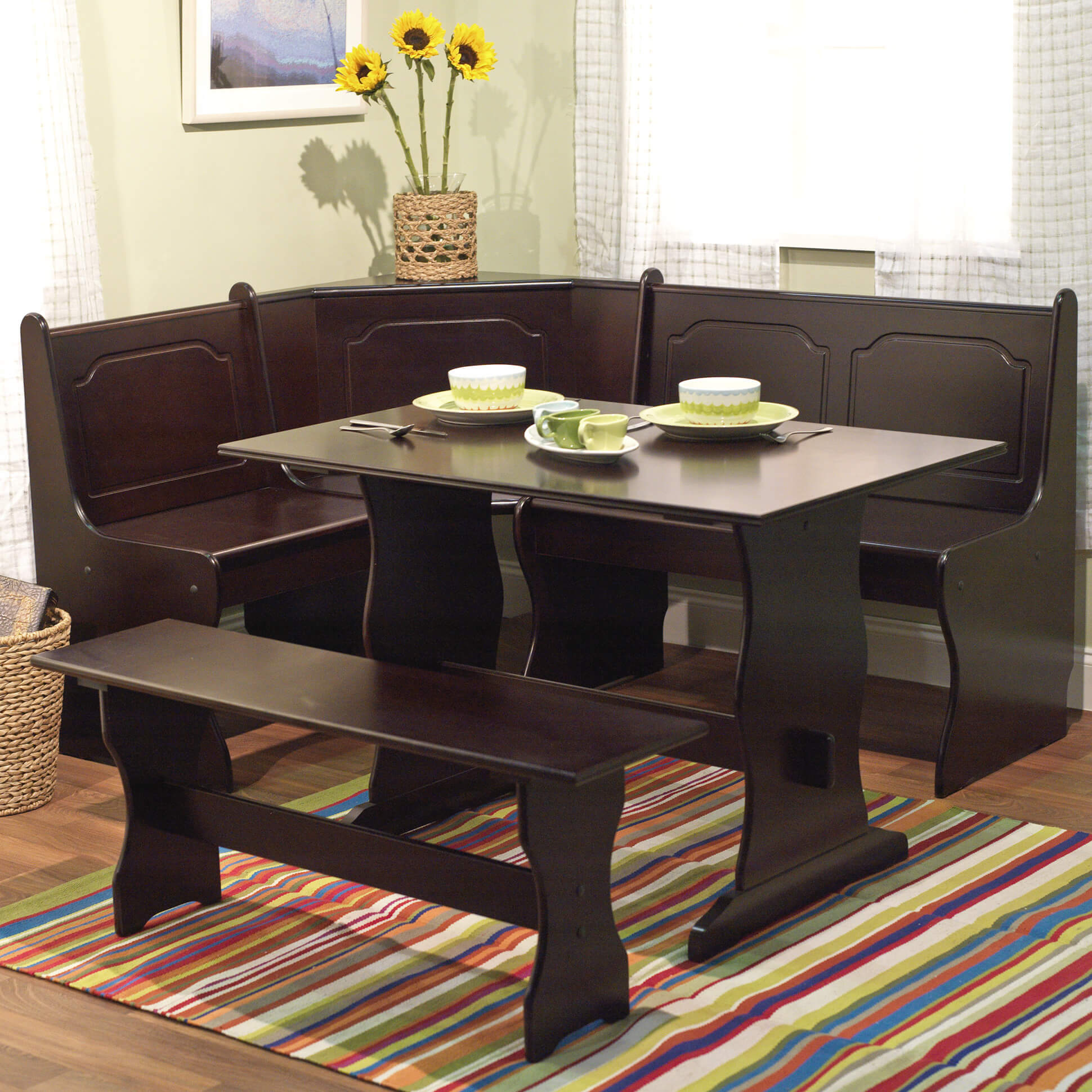 breakfast nook furniture sets kitchen tables sets 2 TMS Breakfast Nook