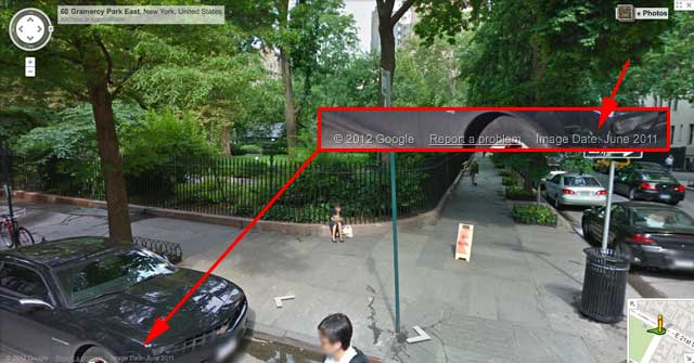 Google Maps Street View Images Are Time Stamped Google Dates Street View Images
