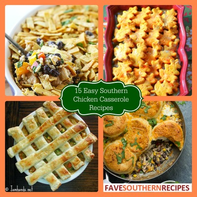 Easy Southern Cooking Recipes: 15 Southern Chicken Casserole Recipes | FaveSouthernRecipes.com
