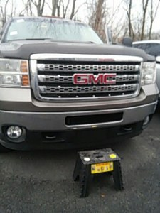 Stroudsburg Windshield Replacement and Repairs Stroudsburg  PA   Replaced windshield on GMC Sierra at Abeloff Buick
