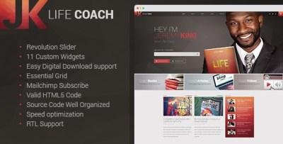 Life Coach - Personal Page WordPress theme by mwtemplates ...
