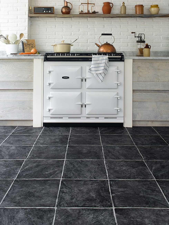 kitchen design trends for kitchen flooring trends stone tile effect flooring carpetright