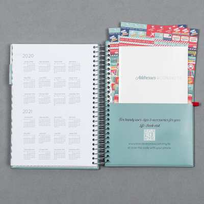 2018-2019 A5 Life Book diary - 16 month diary | Boxclever ...