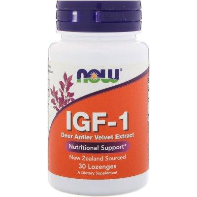 Now Foods, IGF-1, 30 Lozenges - iHerb.com