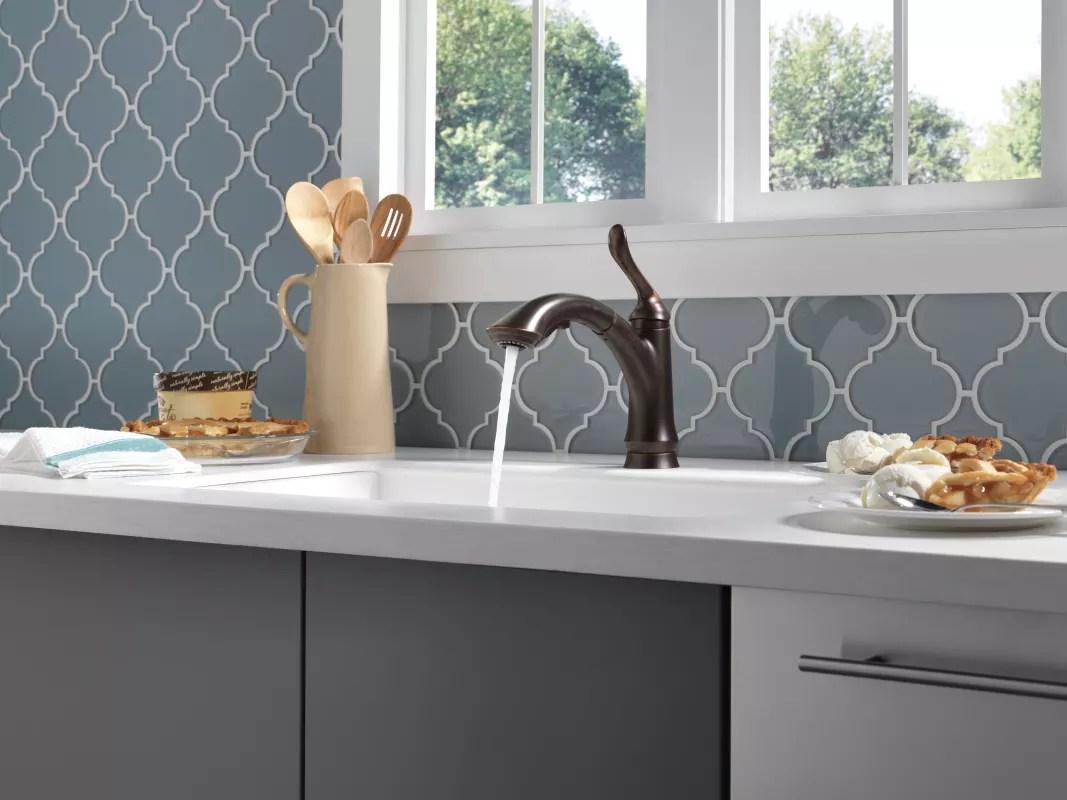 f delta linden kitchen faucet Take