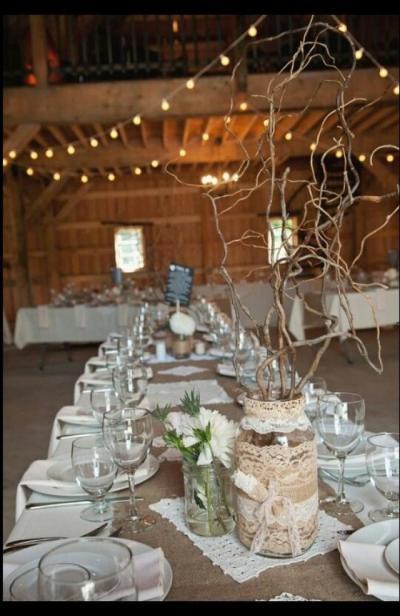 Mason Jar - Rustic Wedding Ideas #2058254 - Weddbook