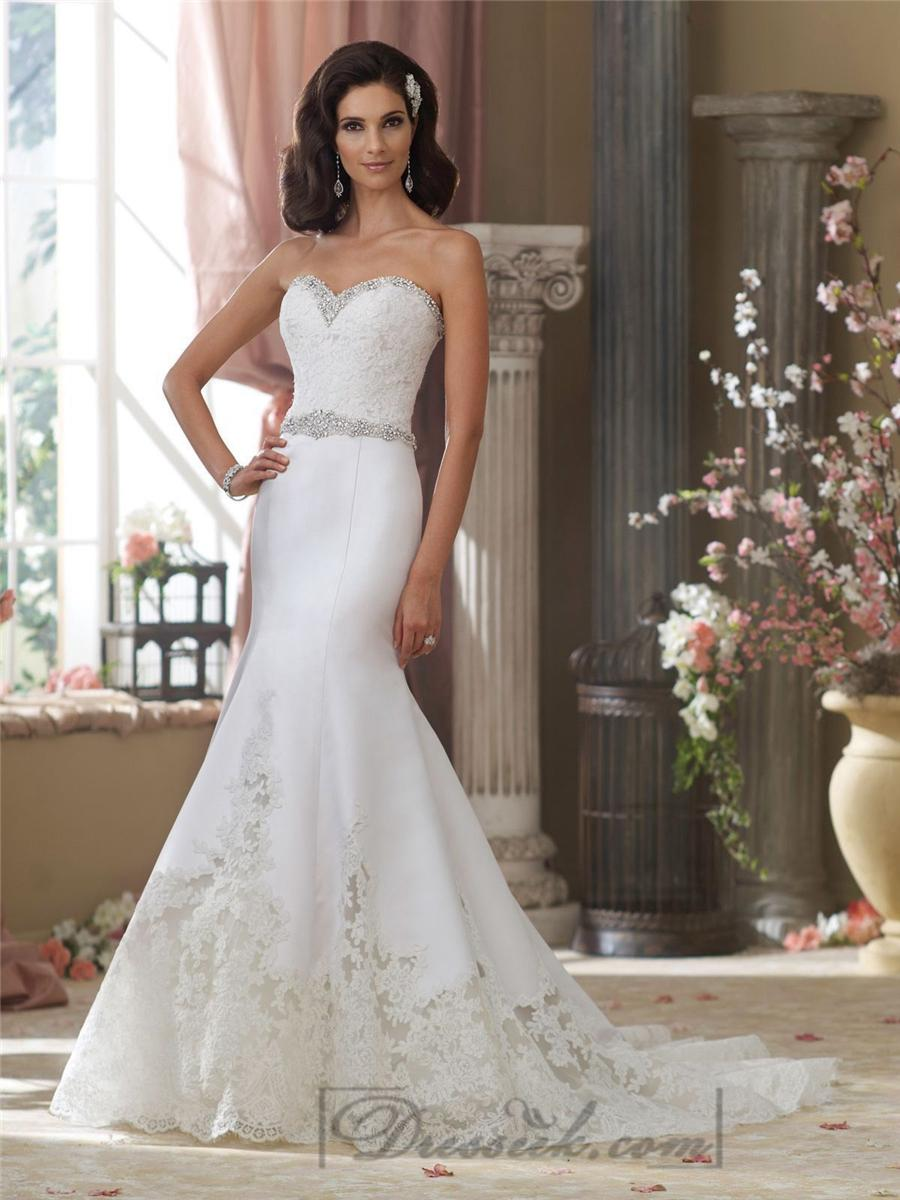 luxury lace over satin princess cut beaded wedding gown hswdh beaded wedding dress